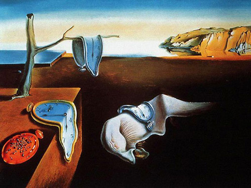 The-Persistence-of-Memory-Salvador-Dali-