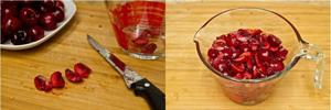 Cách làm kem cherry thơm ngon 8
