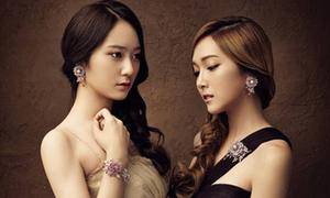 Jessica (SNSD), Krystal f(x) đẹp như nữ thần