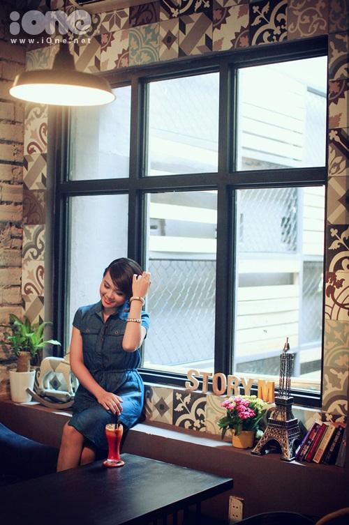 Với không gian đẹp như tranh StoryM còn đáp ứng nhu cầu thỏa thích chụp hình của teen nhà mình nữa.