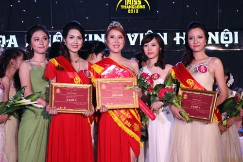 Danh hiệu Á khôi 1 thuộc về nữ sinh Đại học Ngoại thương Trần Vũ Phương Liên (SBC 19). Á khôi 2 thuộc về Nguyễn Thị Thu Hà (SBD 12).