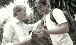 Phim ngắn về lòng cha lấy nước mắt giới trẻ