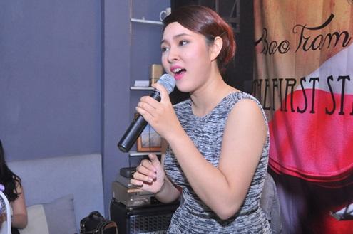 Bảo Trâm chiêu đãi các fan bằng ca khúc nhạc kịch sôi động Welcome To Burlesque, Bảo Trâm đã khiến khán giả bất ngờ khi biến hoá vô cùng ấn tượng. Cô tiết lộ sắp tới mình sẽ tham gia một vở nhạc kịch do Việt Nam sản xuất.