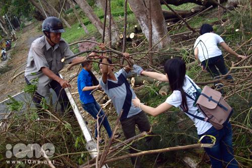 - Chiều 18/10, gần 70 bạn trẻ từ một số CLB, đội, nhóm đã tình nguyện đến thu gom cây cối, chỉnh trang công viên 29/3  một công viên lớn nằm ở trung tâm thành phố Đà Nẵng, nơi có hàng trăm cây xanh lâu năm bị ngã đổ do ảnh hưởng của cơn bão số 11.