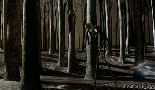 Trong bộ phim  Making of  Khởi tạo, cảnh phim khó nhất mà các nhà sản xuất phải thực hiện là cảnh Jack với tay lấy nắm cửa để bước vào vùng Christmasland. Tất cả những gì khán giả thấy trên màn ảnh là cảnh tượng hoàn hảo mà Jack đứng trên nền một cánh rừng xanh thẳm.