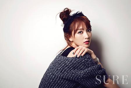 Ngắm Kang Ji Young đẹp ấn tượng trên tạp chí