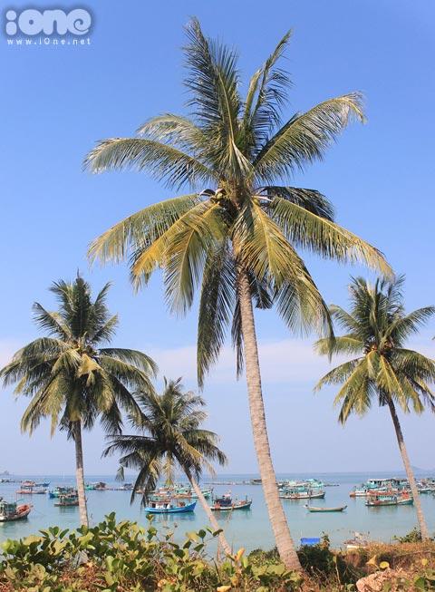 Mũi Gành Dầu, ở cuối Bắc đảo, là nơi bạn có thể nhìn thấy hải giới với Campuchia.
