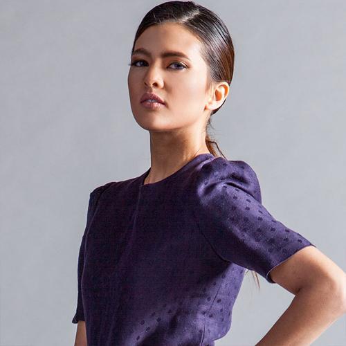Katarina người Philippines 21 tuổi cao 1m67.