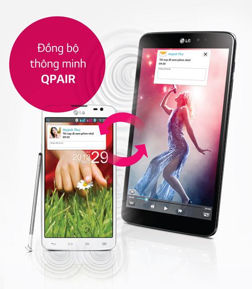 thông báo cuộc gọi, nhận và trả lời tin nhắn, sử dụng ghi chú nhanh QMemo