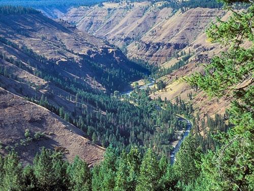 9. Còn đây là khu bảo tồn Umatilla nằm ở vùng Đông Bắc bang Oregon và Đông Nam bang Washington.