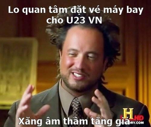 Dư luận đang hướng về chuyến về nước sớm của U23 Việt Nam thì xăng tăng bất thình lình.