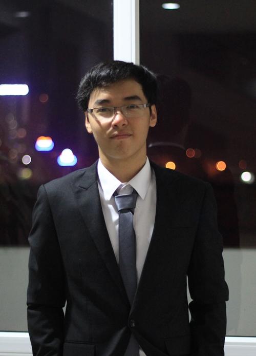 Không những siêu pro trong tin học, ngoài đời Lê Yên Thanh là một chàng trai hóm hỉnh, dễ mến.