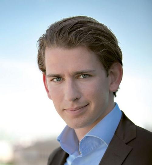 Sinh năm 1986, Sebastian Kurz không chỉ là ngoại trưởng trẻ nhất trong lịch sử nước Áo và châu Âu,