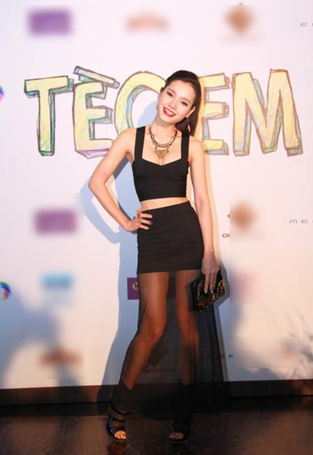 Phương Trinh sắm một vai phụ trong phim.