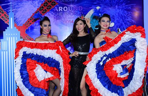 Đầu năm 2013, Trang Pháp trở thành khách mời đặc biệt trong đêm tiệc đón năm mới Around The World tại TP HCM.