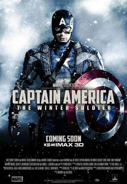 Steve Rogers cố gắng khẳng định vai trò vị anh hùng giúp ích của mình trong thời hiện đại thế nhưng một mối nguy hại đã xuất hiện, đó là người diệp viên cũ được biết đến với tên Winter Soldier. Phần tiếp của Captain America sẽ ra rạp vào tháng 4 năm nay.