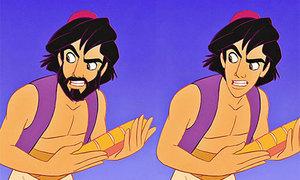 Phát hiện độc khi nhân vật hoạt hình... mất râu