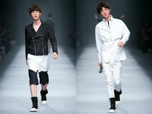 Ngoài nghề diễn viên, công việc chính của anh chàng là một người mẫu. Ahn Jae Hyun từng catwalk cho nhiều show thời trang lớn nhưD.GNAL Xuân Hè 2014&