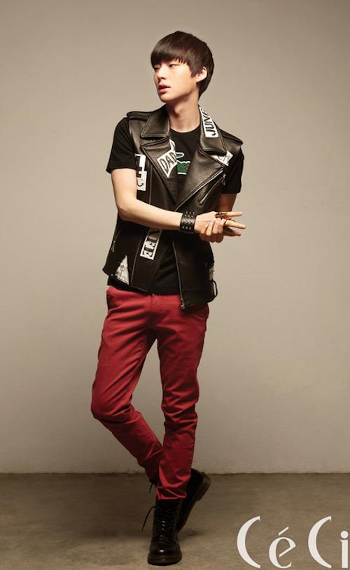 đồng thời cũng xuất hiện trên các tạp chí lớn của Hàn Quốc như CeCi, Esquire, Vogue, Vogue Girl, Elle Girl, InStyle,&.