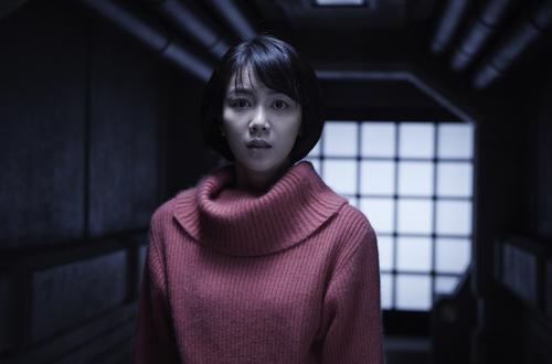 Nữ diễn viên Kim Ok Bin trong một cảnh phim.