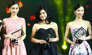 Lưu Thi Thi, Angelababy được phong danh 'nữ thần'
