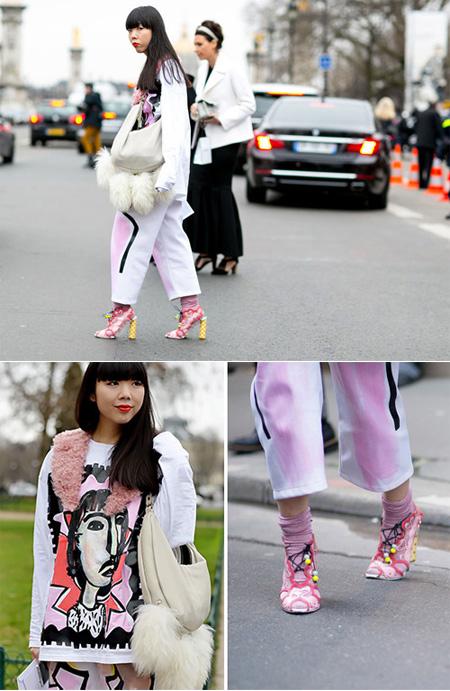 Blogger thời trang nổi tiếng Susie Bubble
