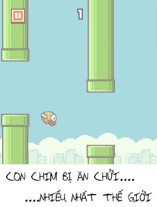 Gây sốt trong vòng nửa tháng trở lại đây, Flappy Bird, tựa game do chàng trai Việt tên Nguyễn Hà Đông sáng tạo đang trở thành hiện tượng toàn cầu. Độ khó của trò chơi cũng như khả năng gây ức chế