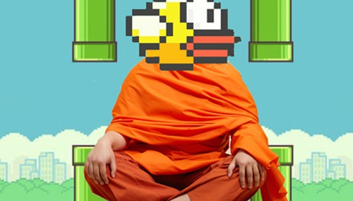 Để thành công trong Flappy Bird, bạn phải giữ vững tinh thần như một tu sĩ.