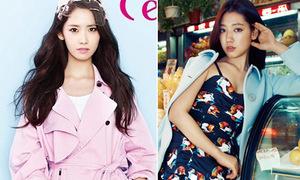 Park Shin Hye, YoonA chào xuân với gam màu rực rỡ