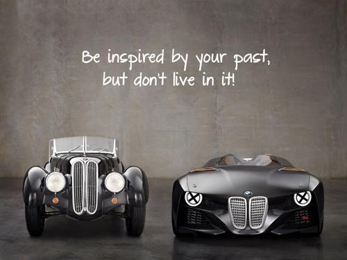 Bạn tiếp thu những kinh nghiệm và lấy quá khứ làm nguồn cảm hứng của bạn, nhưng bạn không thể sống trong đó. Thực tại mới là cuộc sống của bạn. Ảnh: Internet