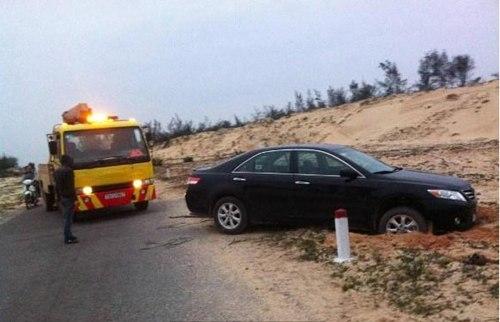 Bức ảnh khiến nhiều người tin vào vụ thiếu gia Quảng Bình tông xe rồi bắn chết người. Ảnh: FB.