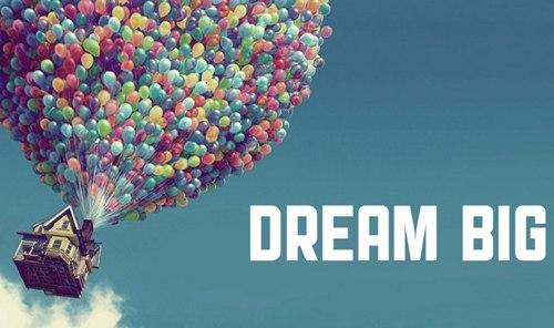 Không ai đánh thuế ước mơ của bạn. Hãy nghĩ về điều bạn khao khát nhất từ tận đáy lòng và làm việc vì nó. Bạn sẽ làm được. Ảnh: Wordpress