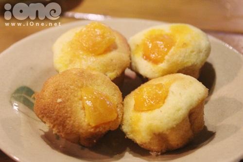 Bánh bông lan trứng muối từng làm mưa làm gió trong giới trẻ Sài Gòn. Ảnh minh họa.