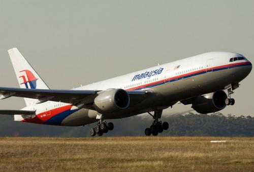 Một chiếc Boeing 777-200 của Malaysia Airlines, tương tự chiếc đang mất tích. Ảnh: Airliners.