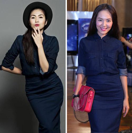 Denim-on-denim: xu hướng khiến sao Việt phát cuồng mỗi khi hè về