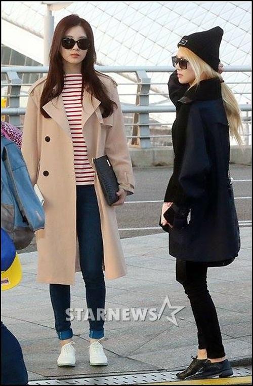 Seo Hyun và Hyo Yeon.
