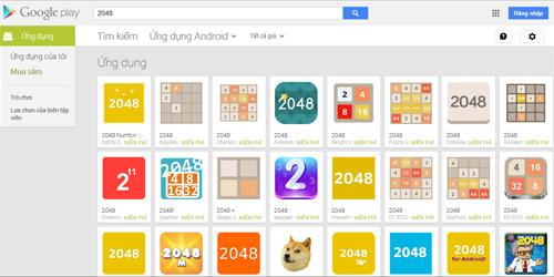 Các tựa game nhái tràn ngập trên kho ứng dụng Google Play.