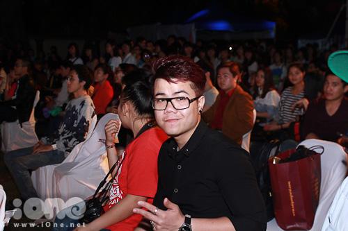 Đinh Mạnh Ninh cũng xuật hiện tại chương trình