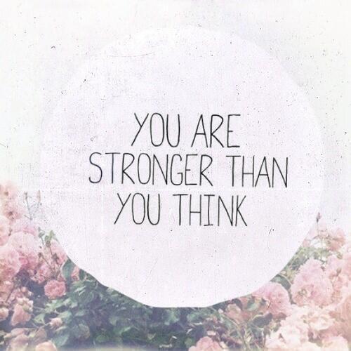 Sự mạnh mẽ bên trong bạn luôn là điều bất ngờ.