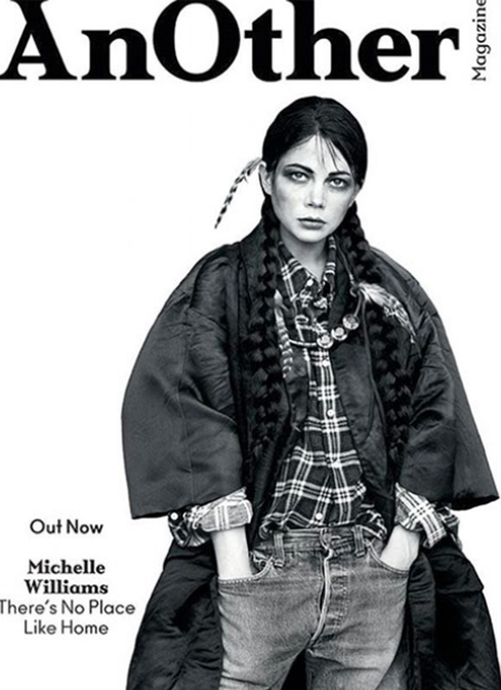 AnOther Spring/Summer 2013 Ahh, the old redface controversy. This image is one of a suite presenting Michelle Williams as eight different characters, and did not go down well with Native American Jezebel writer Ruth Hopkins. Hopkins wanted an apology and for the issues to be pulled, neither of which happened.
