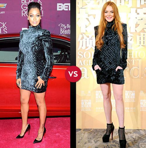 La La Anthony vs. Lindsay Lohan