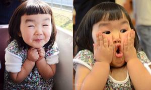 Cười ngất với 1001 kiểu mặt xấu của bé gái 4 tuổi
