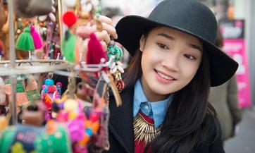 Nhã Phương không make-up cầu kỳ vẫn xinh long lanhCô nàng khoe bộ ảnh mới với phong cách nhẹ nhàng, trong sáng trên đất Hàn.