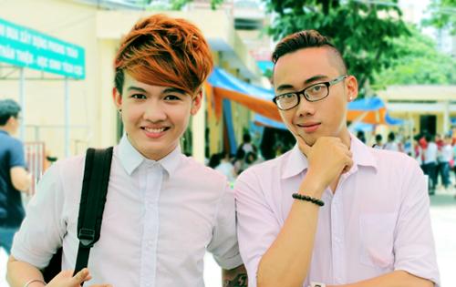 Ginô Tống và Tuấn Kuppj, 2 thành viên sáng lập nhóm.