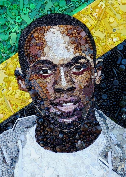 Người chạy nhanh nhất thế giới Usain Bolt.