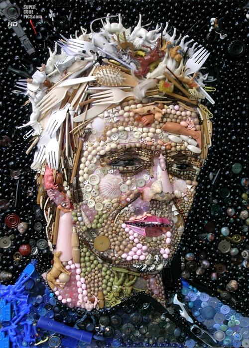 Cầu thủ bóng đá lừng danh David Beckham.
