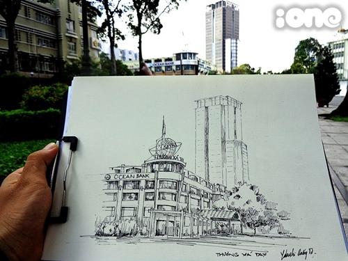 Đa số các bức tranh của Dương Tử đều vẽ về những góc phố quen thuộc của Sài Gòn. Ngoài ra, Dương Tử còn tranh thủ vẽ lại cảnh đẹp trong những chuyến trải nghiệm thực tế ở Đà Lạt, Đà Nẵng...