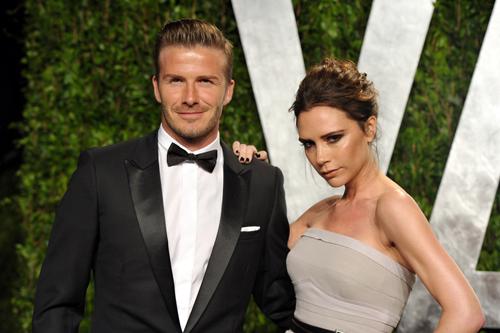 """Vic đã phải mất một thời gian dài để chứng tỏ bản thân trước cái bóng """"một nửa"""" của David Beckham. Ảnh: Wallapper."""