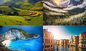25 cảnh đẹp nên chiêm ngưỡng trước khi nhắm mắt
