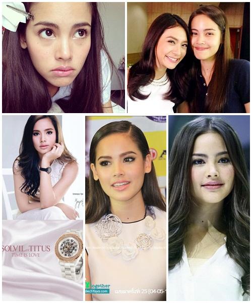 Yaya Urasaya, nữ diễn viên trẻ sinh năm 1993 vẫn xinh đẹp dù có hay không có lớp make up